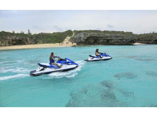 【沖縄・宮古島】免許は無いけどマリンジェットに乗りたい!インストラクターによる迫力の運転!