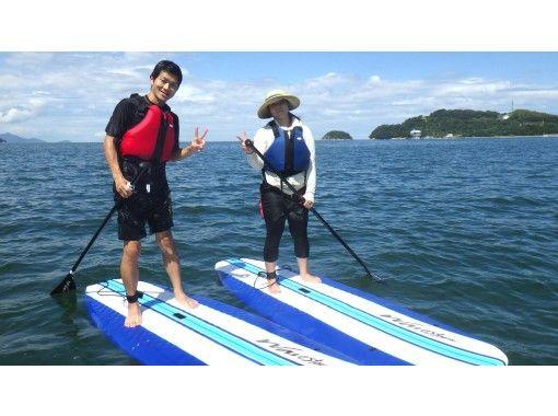 【香川・さぬき】自由に海上散歩しよう!SUP経験者向け  3時間レンタル