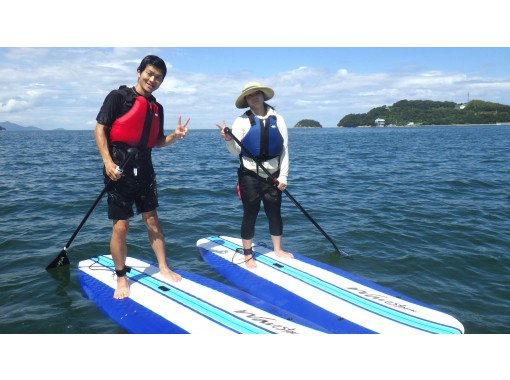 【香川・さぬき】自由に海上散歩しよう!SUP経験者向け  3時間レンタルの紹介画像