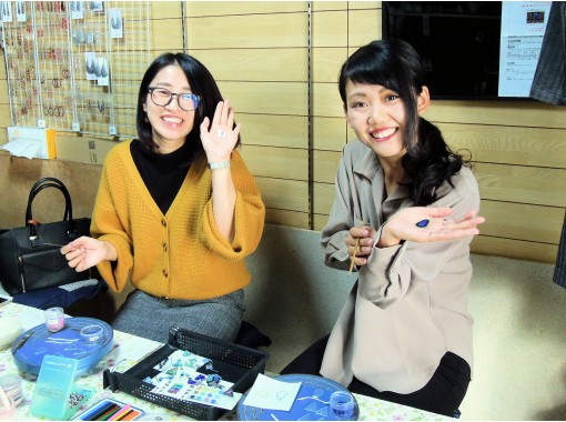 [Osaka Tamatsukuri] Children can also enjoy! Glass Cloisonne Accessory Production Experienceの紹介画像