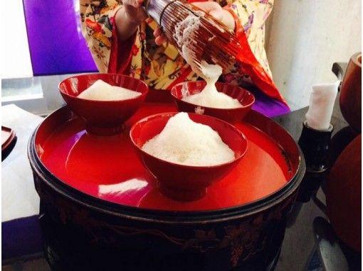 【沖繩・那覇首里】琉球ぶくぶく茶道体験 おもてなし礼法 首里城近く!