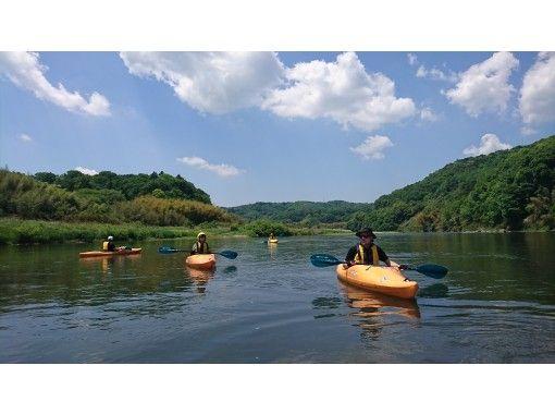 [Tochigi ・ Nakagawa]Kayak Beginner course (down the river)の紹介画像