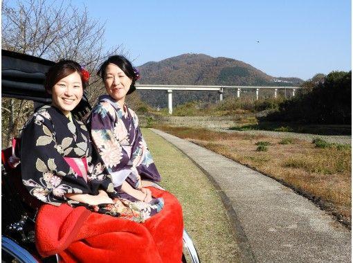 【徳島・美馬市】江戸時代へタイムスリップ!うだつの町並みで人力車体験(30分コース)
