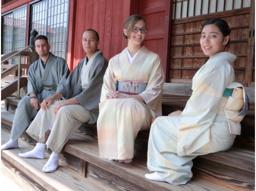 【新潟・南魚沼】越後上布・塩沢紬の着物・浴衣体験!「牧之通り」散策