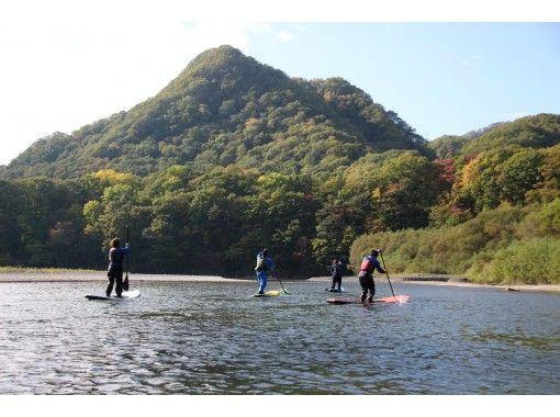 【北海道・日高】きれいな景色を見ながらゆったり~SUPスタンドアップパドルボード~の紹介画像