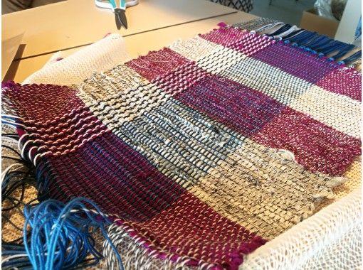 【新潟・十日町】オリジナル織物 着物の街で織る手織りストール&小物