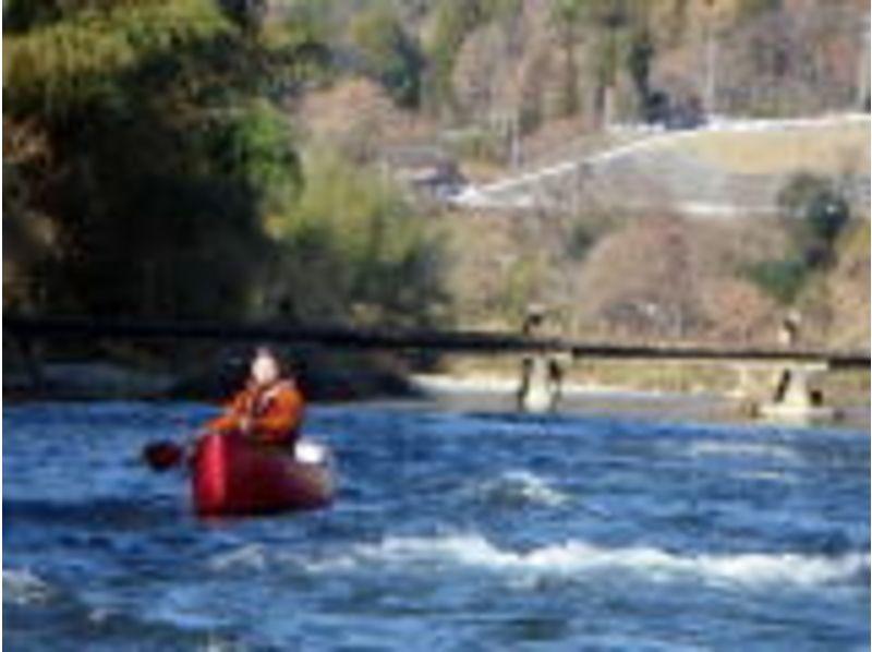 【カヌー】久慈川ツアー  (カナディアンカヌーでの川下り経験者)の紹介画像