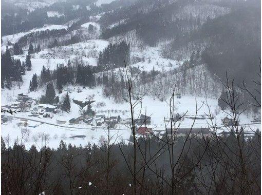 天下森山スノートレッキング