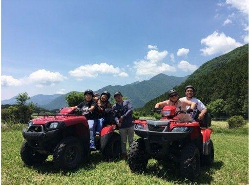 【静岡・富士】ATV使用!四輪バギー体験トレッキングプラン!富士山を眺めて(30分2㌔)