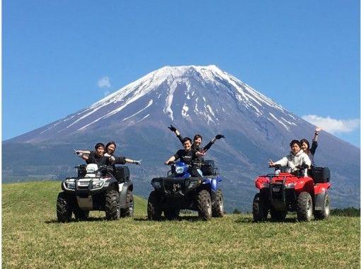 【静岡・富士】ATV使用自慢のロングコース(1時間)&タンデムフライト陸空から大パノラマを満喫!