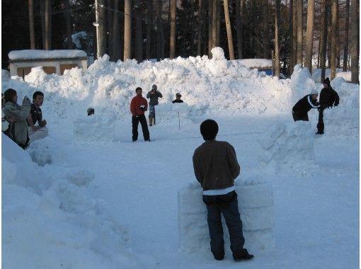 【長野・大町市 スノーゲーム】雪上運動会・スノーゲーム・チーム力アップ