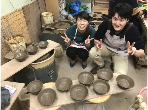 [Hyogo/ Amagasaki] 2 minutes on foot from the station! The 9th Year pottery wedding plan! Ceramic art experience (6 electric potter's wheel courses)の紹介画像