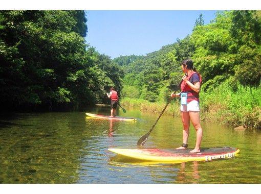 【宮崎・青島】癒しの川でゆったりSUP体験♪{マリンスポーツ初心者}のための特別プラン♪