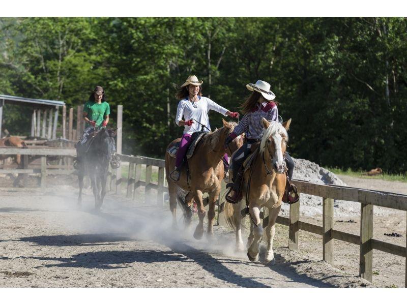 【北海道・札幌】Ride Time 選べる乗馬時間コース【ホーストレッキング】の紹介画像