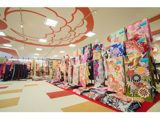 [Ibaraki, Hitachinaka] Adult style kimono Rental! Shooting before shooting & hair, makeup, dressing set plan for the On the dayの紹介画像