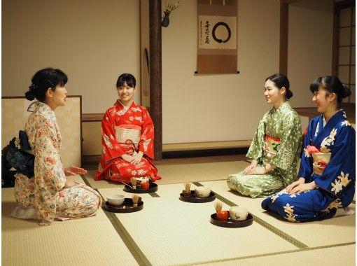 【広島・宮島】着物で日本文化体験「茶道」の紹介画像