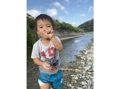 【鹿児島・奄美】小さなお子様も楽しめる!タナガ(手長海老)獲り
