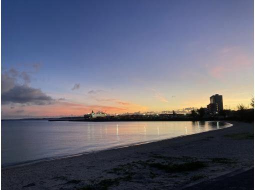 【オンライン体験】宮古島の景色と共に朝ヨガ or サンセットヨガの紹介画像