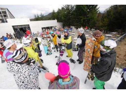 【半日・スノーボードレッスン】ビギナーコース【レンタルなし】