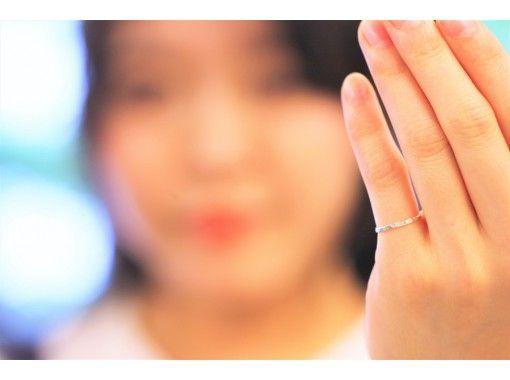 [大阪梅田]小银戒指手工制作体验☆让日常变得有趣的时尚课程♪の紹介画像