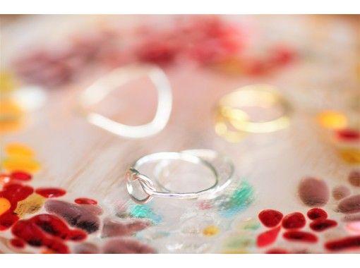 [Nagoya Sakae] Petit silver ring handmade experience ☆ Sense up fashionable course that makes everyday fun ♪の紹介画像