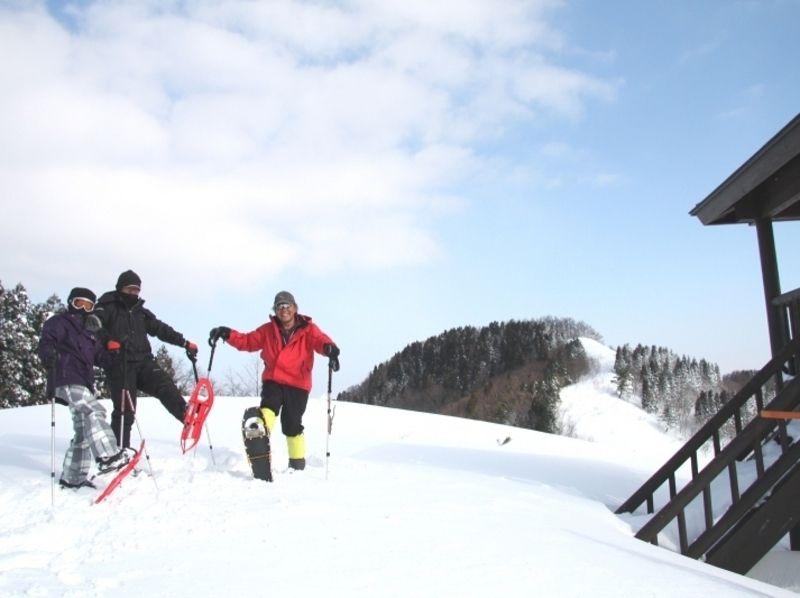 【兵庫・但馬】スノーシュー体験ツアー(1日コース)の紹介画像
