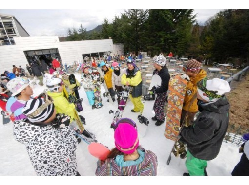 【半日・スノーボードレッスン】ビギナーコース【レンタルセット有り】