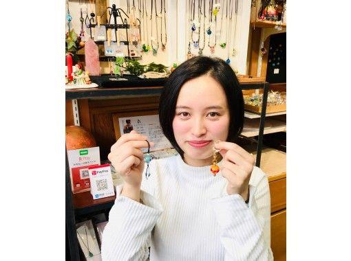 【兵庫県・城崎温泉】ちょっとやってみんせーな♪可愛いとんぼ玉を2つ製作♪アレンジもぜひお楽しみくだいの紹介画像