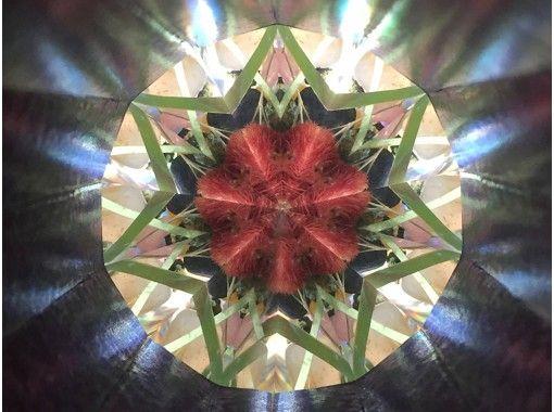 【長野・長野市】天然石や信州の花を具材にハーバリウム万華鏡手作り体験!