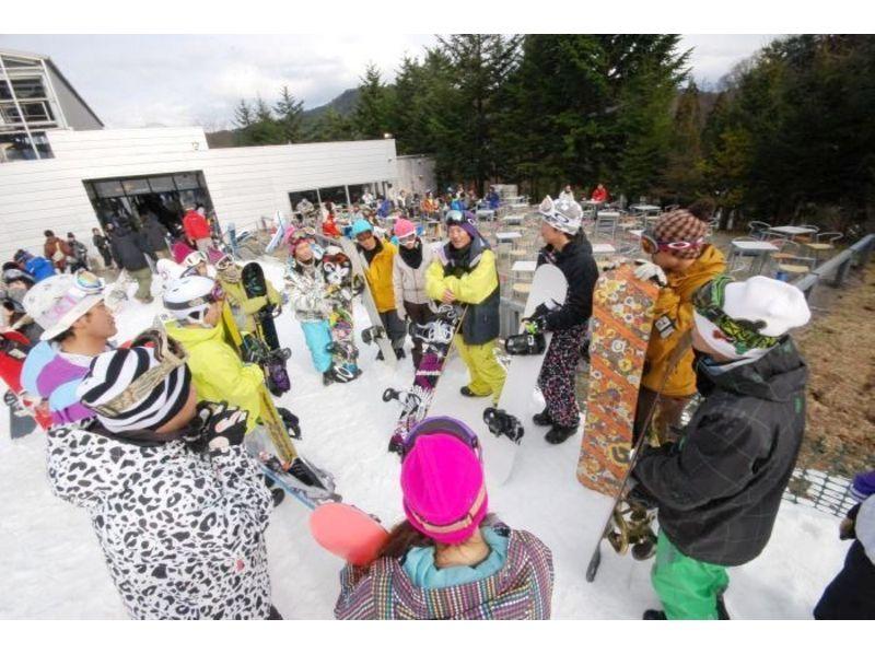 【半日・スノーボードレッスン】ビギナーコース【レンタルセット有り】の紹介画像