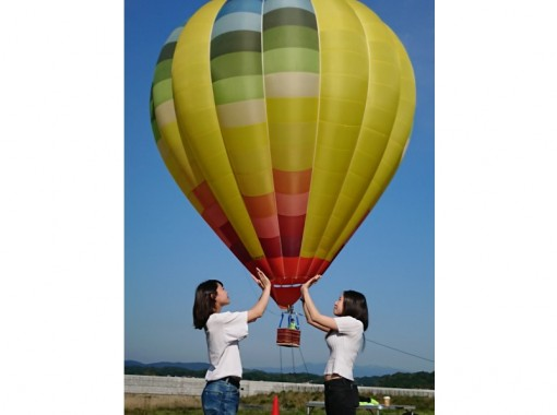 [Sendai / Matsushima] -Experience a hot-air balloon in Matsushima, one of Japan's three most scenic spots dyed in the morning sun-Enjoy the spectacular view of Matsushima from a relaxing hot-air balloonの紹介画像