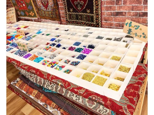 [Wakayama/Kushimoto] Drink & experience at Making accessories in a Turkish cafe! Keychain or braceletの紹介画像