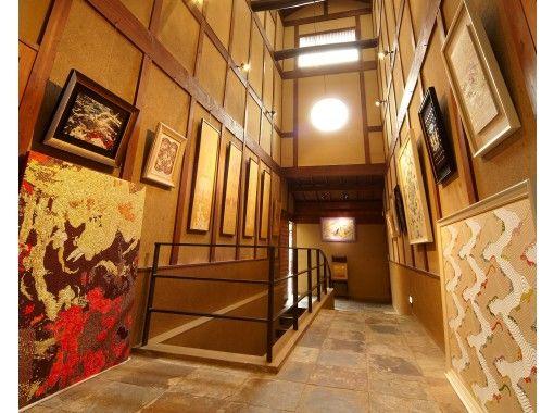【京都市北区上賀茂神社周辺】京都で伝統的な織物工房見学 最高峰の錦の伝統織物と美術品と歴史にふれる!