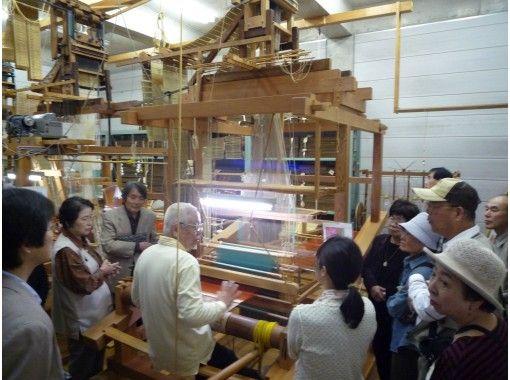 【京都市北区上賀茂神社周辺・織物工房見学】京都で伝統的な織物工房見学