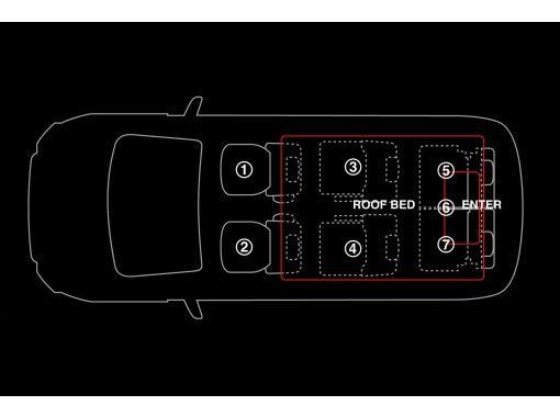 【岩手・盛岡】レンタカー「三菱・デリカ(ルーフアップテント)」7人乗り・右ハンドル・ナビ・ETC