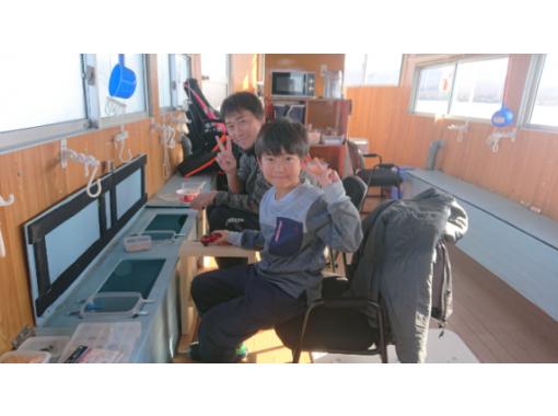 【山梨・山中湖】ドーム船でワカサギ釣り体験プラン!(竿、仕掛け、エサ込み)