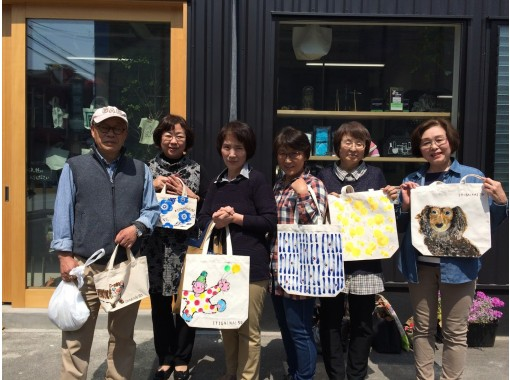 [Hiroshima/ Fukuyama] Somerobo ★ For memories during your travels! Experience drawing on tote bag (large)!の紹介画像