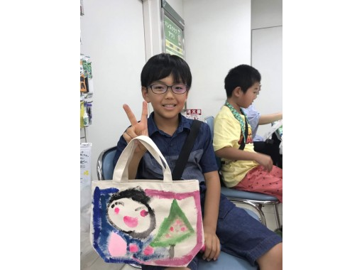 [Hiroshima/ Fukuyama] Let's make portable art! Drawing experience on tote bag (small)! To children ★ adult care! ★の紹介画像