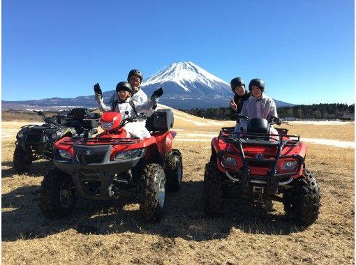 ★ 1月★富士山越野車30分鐘路線和富士山看上去最大的草莓狩獵花園★狩獵草莓30分鐘無限量暢飲の紹介画像