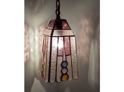 【愛知県名古屋】ステンドグラスのランプの紹介画像
