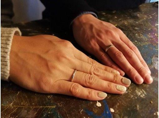 【名古屋】指輪作り体験・純銀製のシルバーリング作り体験・ペアリングなどにもオススメ!の紹介画像
