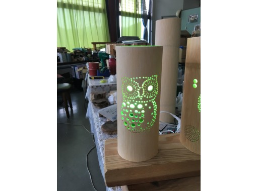 [Tottori / Yurihama Town] It can be done in about 30 minutes! Bamboo lantern making experienceの紹介画像
