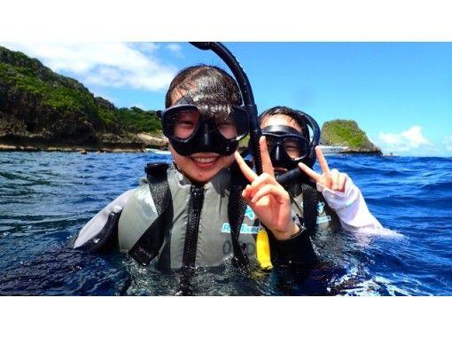 【 青の洞窟ボートシュノーケル 】+【 沖縄シーサーパラセーリング 】 大人気セット!  GOTOトラベル地域共通クーポン取扱店