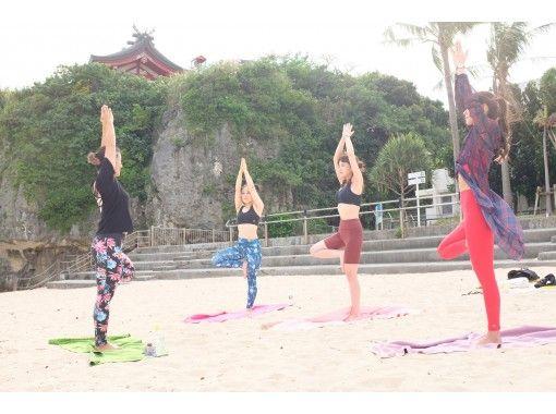 【沖縄・那覇】那覇市唯一のビーチで朝ヨガ・サンセットヨガ〔波之上ビーチ〕