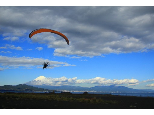 [Overview of Mt. Fuji] Why did you make such a yabe course! more 1500 feet! Fly for 30 minutes! Paragliding experience!の紹介画像