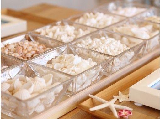 貝殼相框手工製作體驗の紹介画像