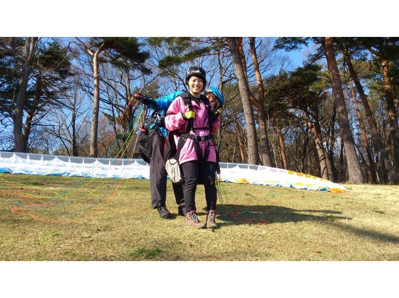 [Gunma, Water] paraglider tandem two-seater experience course <Beginners welcome! > Introduction image