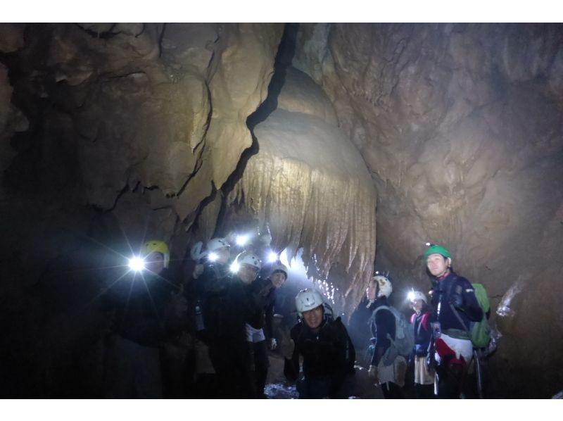 【鍾乳洞探検】Lv.2ケイビング岡山コースの紹介画像