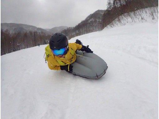 【群馬・みなかみ・エアーボード】雪面スレスレ エアーボードツアー(半日)
