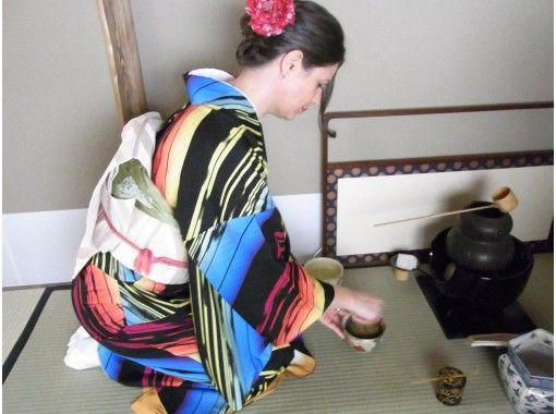 【東京・銀座】着物を着て本格的なお茶室で茶道体験!英語、中国語対応!お子様も体験可能です!